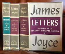 James Joyce ~ Letters ~ 3 Volumes ~ Viking, 1966