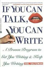 If You Can Talk You Can Write by Saltzman, Joel