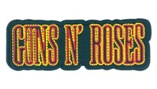 Embroidered Iron on patches & Guns N Roses Rock Band 220