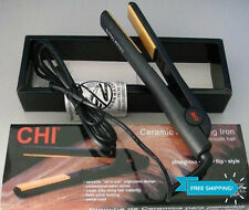 "NEW CHI PRO 1"" Ceramic Flat Iron Hair Straightener Hairstyling Profesional Black"