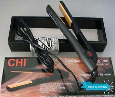 "NEW CHI PRO 1"" Ceramic Flat Iron Hair Straightener Hairstyling Profesional Black"
