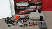 Boxed Nintendo NES Console Action Set / Collectors / Extra Controller / PAL