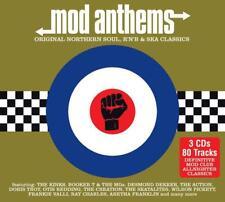 Various - Mod Anthems (Original Northern Soul, R&B, SKA) NEW 3 x CD