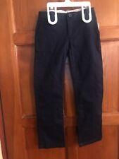 Nwt Gap Kids Navy Blue Skinny Chino W Adjustable Waist Girls Sz 6 School Uniform