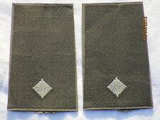 Bundeswehr Shoulder Marks: Lieutenant, Army, White/Olive