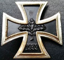 ✚6914✚ German Iron Cross First Class medal post WW2 1957 pattern MAGNETIC ST&L