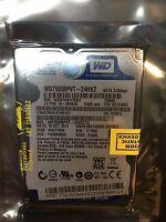 OEM Western Digital WD7500BPVT-24HXZ 750GB Scorpio Blue SATA hard drive