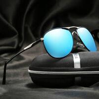 Men's HD Polarized Photochromic Sunglasses Men Driving Chameleon Outdoor Eyewear