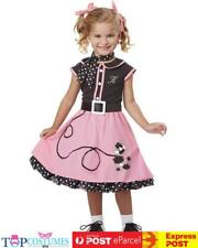 50s Sweetheart Poodle Cutie Toddler Fancy Dress Book Week Kids Costume