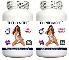 2x Male Penis Enhancement Pills Sex Aid Mens Sperm Stamina Volume Aphrodisiac