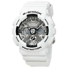 NEW* MENS CASIO G SHOCK WHITE GREY PASTEL WATCH GMAS-120MF-2A RRP£159