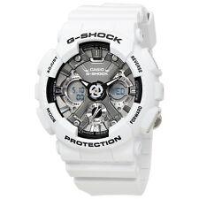 NEW* MENS CASIO G SHOCK WHITE GREY PASTEL WATCH GMAS-120MF-2A RRP£159