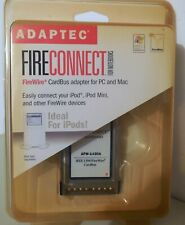 New listing New Adaptec Fire Connect for Mac & Notebooks - 3-port FireWire CardBus Afw-1430A