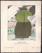Charles Martin. Gazette du bon ton. 1921 - planche 6. Paul Poiret