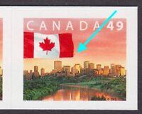 """FREAK-ERROR =""""RED STAR"""" = UNLISTED = FLAG = MNH Canada 2003 #2011 [ec289]"""