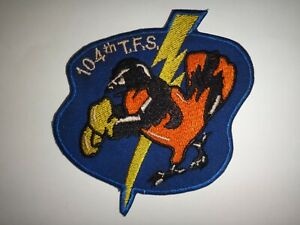 USAF Air Force 104th Tactique Fighter Escadron Patch
