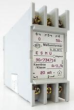 RITZ ESMU 90/734716 Messumformer Messwandler Converter 0...5A 20mA 0-23-50°C