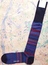 Falke Mens Camel Silk Mix Socks Gentleman's Lab 8.5-9.5 Long Length Blue RRP £69