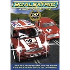 Scalextric 50th Anniversary Hard cover book - A Race through Time - C8199