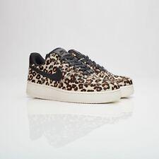 "Nike Wmns Air Force 1 07 LX ""Snow Leopard"" 898889-004 Black Size US 5 New"
