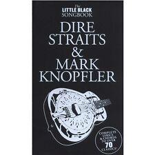 THE LITTLE BLACK BOOK DIRE STRAITS & MARK KNOPFLER *NEW* Lyrics & Chords Guitar