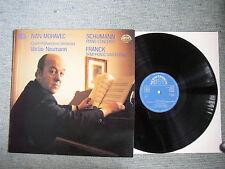 Vtg LP Ivan Moravec Schumann Piano Concerto Franck Symphonic Variations Czech PO