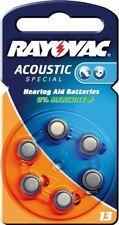 Rayovac 6x Rayovac Acoustic Special PR48/13A zinc-air hearing aid cell 1.4 V