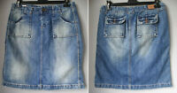PEPE JEANS Minigonna di jeans regular fit Tg M L 42 44 PICADILLY SKIRT 10 USA 28