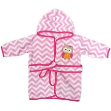 Neat Solutions Extra Soft & Warm Hooded Baby Bathrobe Curious Owl 0-9 Months