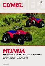 HONDA ATC TRX FOURTRAX 70-125 1970-1987 WORKSHOP MANUAL