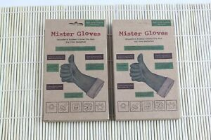 2pairs Mister Gloves NonLatex Big XXL Equivalent Rubber Gloves for Mr.Men Clean