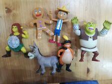 SHREK Mcdonalds Happy Meal Toys x6