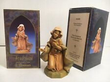 "Vtg Fontanini Figure | Mary | Heirloom Nativity by Roman | 5"" Collection 72512"