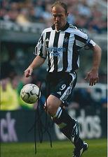 Alan SHEARER Signed Autograph Photo AFTAL COA Newcastle United Captain Legend