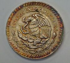 {BJSTAMPS}  1985 MEXICO Libertad 1 ozt .999 Overall pretty  toning
