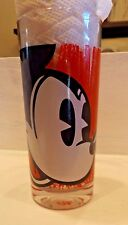 """RARE & HTF Disney Mickey Mouse Red 5.5"""" drinking glass~~Collectible"""