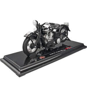 Maisto Modèle Réduit de Moto Miniature Harley Davidson 1948 FL PANHEAD 1/18