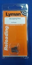 Lyman Decapping Pins - 10 Pack - #7837786 NEW