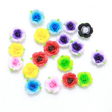 30pcs Wholesale Mixed Random Color Flower Shape FIMO Polymer Clay Spacer Beads C