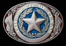 TEXAS STATE BELT BUCKLE BUCKLES BEAUTIFULLY DONE NEW!