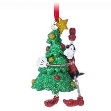 NEW Disney Store Goofy & Tree Sketchbook Christmas Ornament - Vintage Toy Series