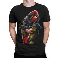 Deadpool vs Wolverine T-Shirt, Marvel Comics Tee, All Sizes