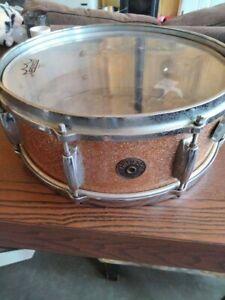 all original gretsch round badge snare drum