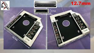 Caddy 12.7mm Festplattenrahmen 2.5 Zoll HDD SSD SATA 3.0 II III CD/DVD-ROM Drive