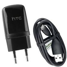 Orig HTC Ladegerät + Datenkabel f HTC Salsa / Lader TC E250 / USB DC M410