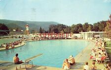 1960 THE GREENBRIER OUTDOOR SWIMMING POOL, WHITE SULPHUR SPRINGS, WV High diver