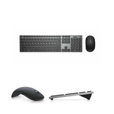 Dell Premier Wireless Keyboard and Mouse - KM717 Grey (Bluetooth) - US English