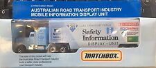 Matchbox Australia RTF Road Transport Forum Truck