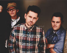 Scouting For Girls HAND SIGNED 8x10 Photo Autograph, She's So Lovely, Elvis Ain'