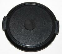 Front Lens Cap snap on 58mm black generic  - Free Shipping USA